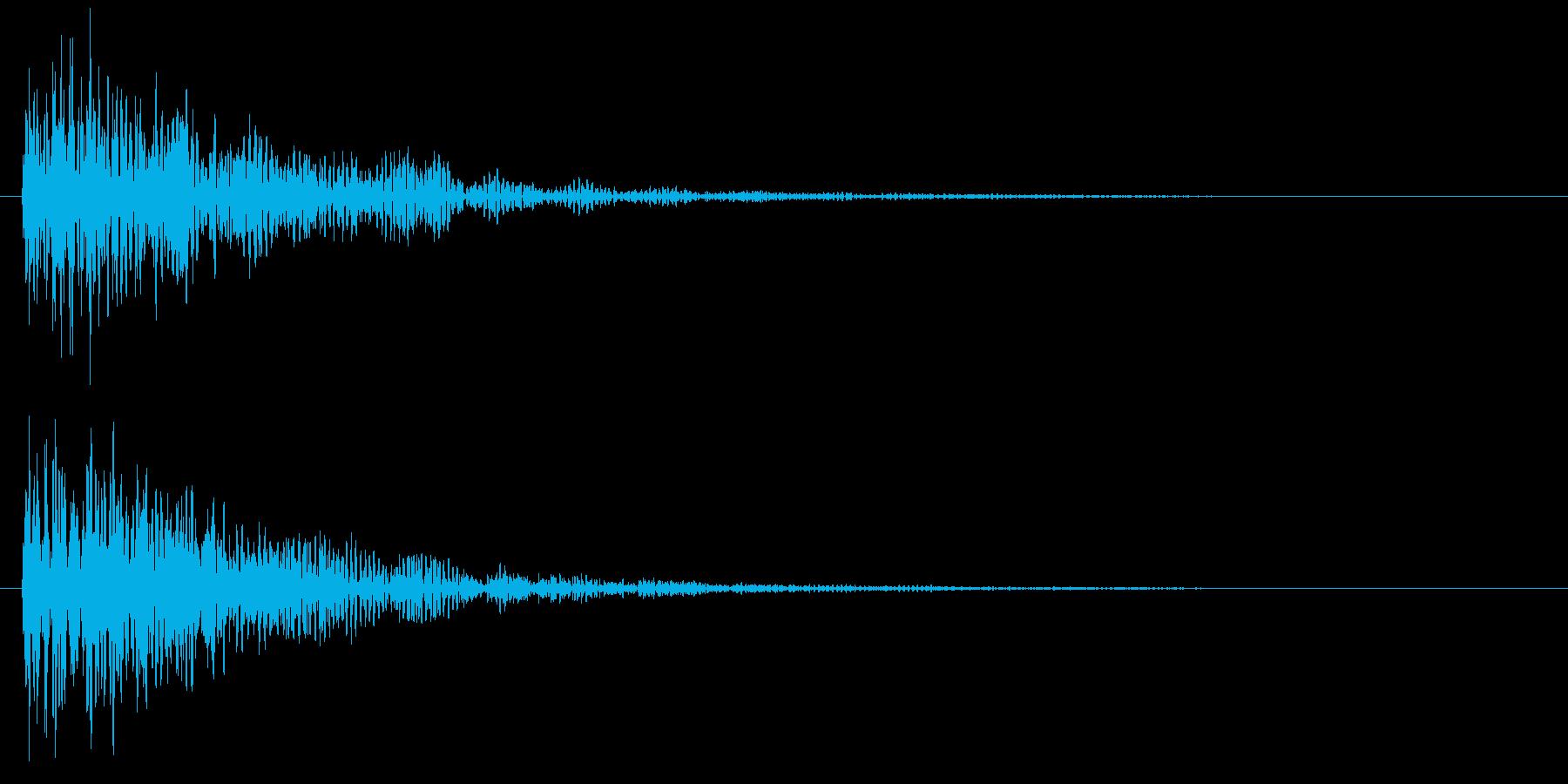 ダーン(映画予告・低音・衝撃・特報など)の再生済みの波形