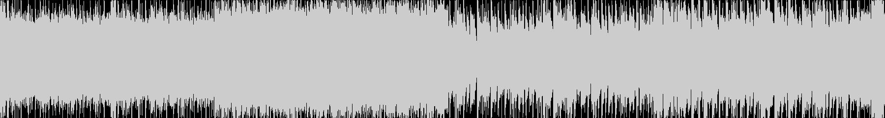 パワーのあるハードロックなループ曲ですの未再生の波形