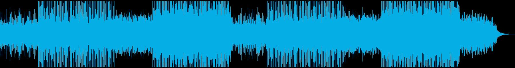 繊細で深みのある神秘的なチルアウトの再生済みの波形