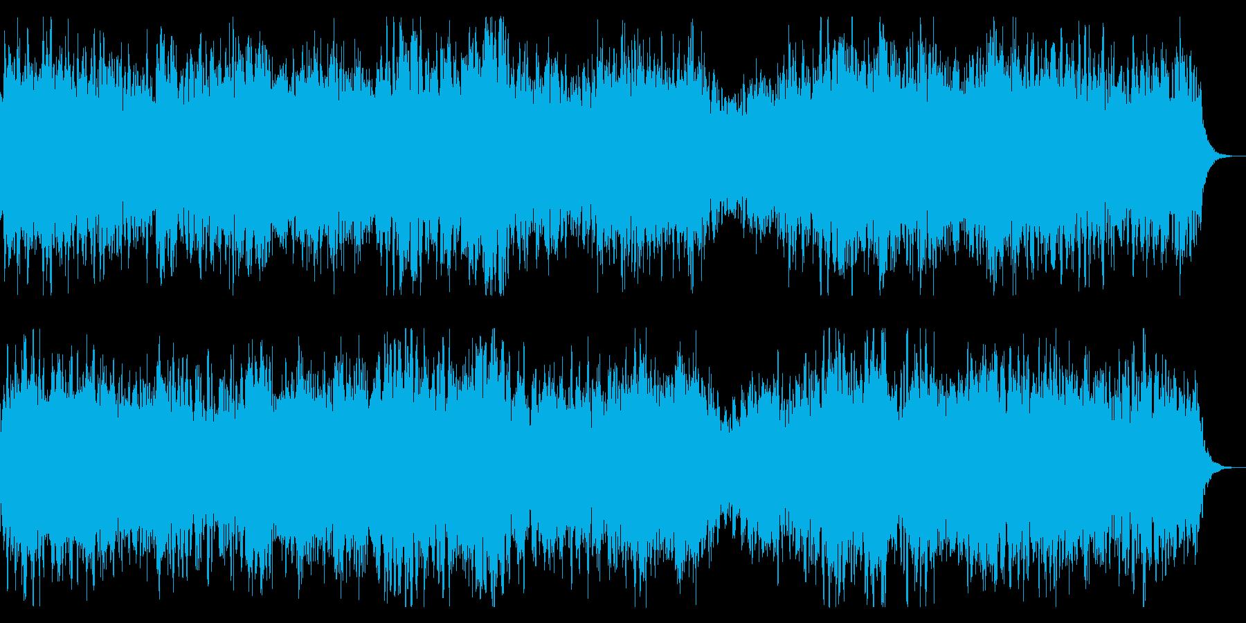 ダークでミステリアスなBGM 奇怪 奇妙の再生済みの波形