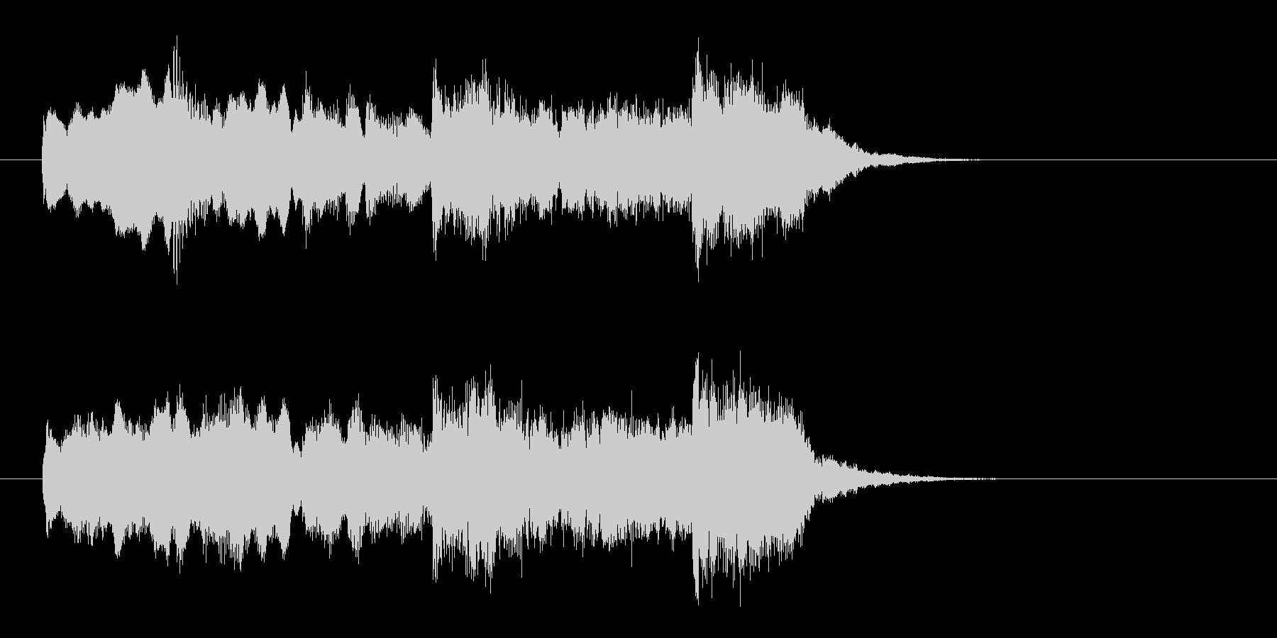 壮大でオリエンタルなBGMの未再生の波形