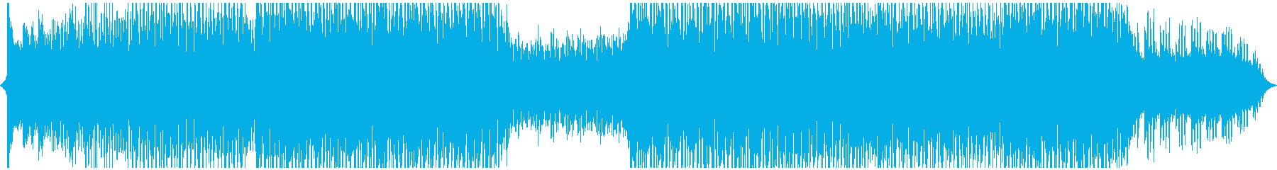 クールで近未来的なBGMの再生済みの波形