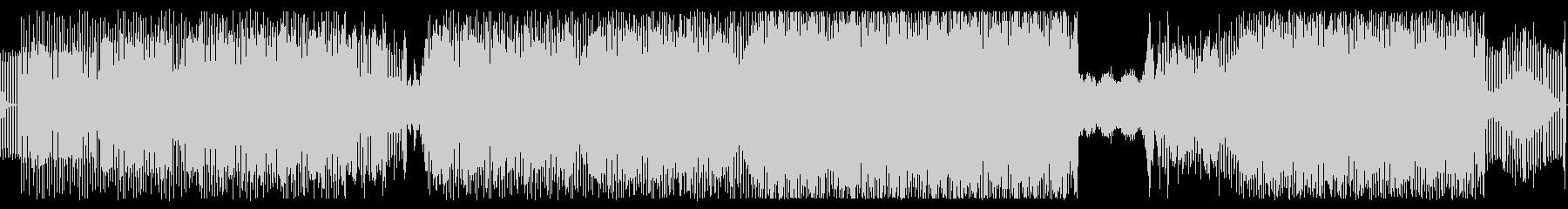 シンセSEQのきれいなテクノの未再生の波形