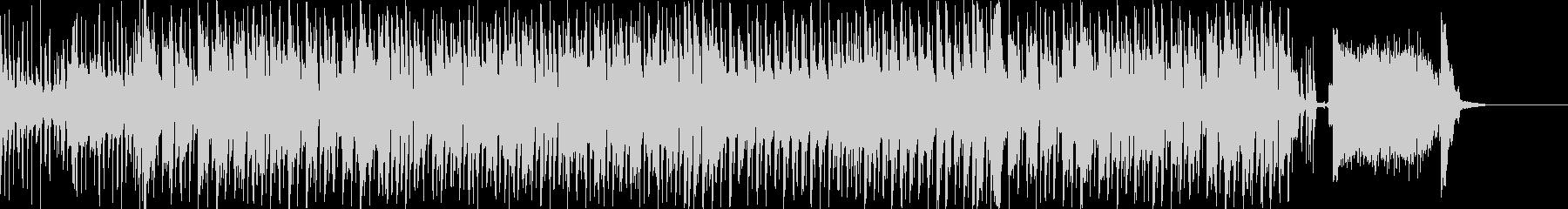 ミステリアスなエレクトロスウィングの未再生の波形