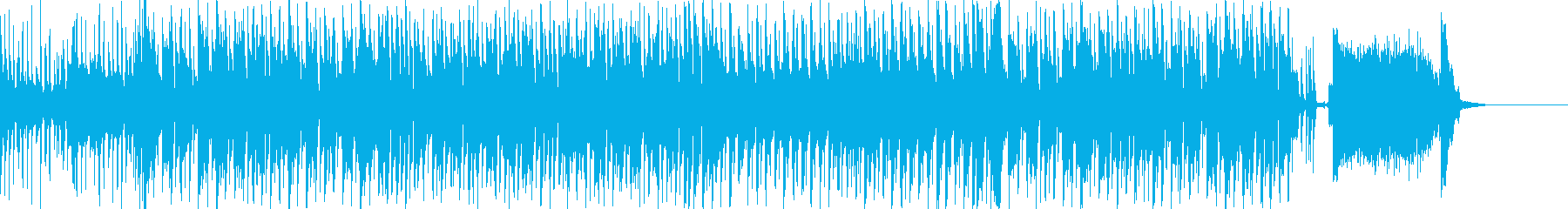 ミステリアスなエレクトロスウィングの再生済みの波形