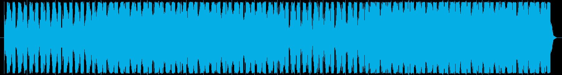 電子音楽とRPGのフィールドBGMの融合の再生済みの波形