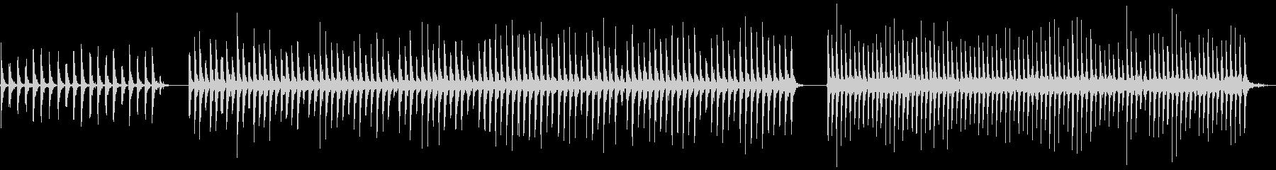 タンブリン、メタル、ジングルベル、...の未再生の波形