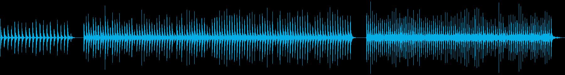 タンブリン、メタル、ジングルベル、...の再生済みの波形