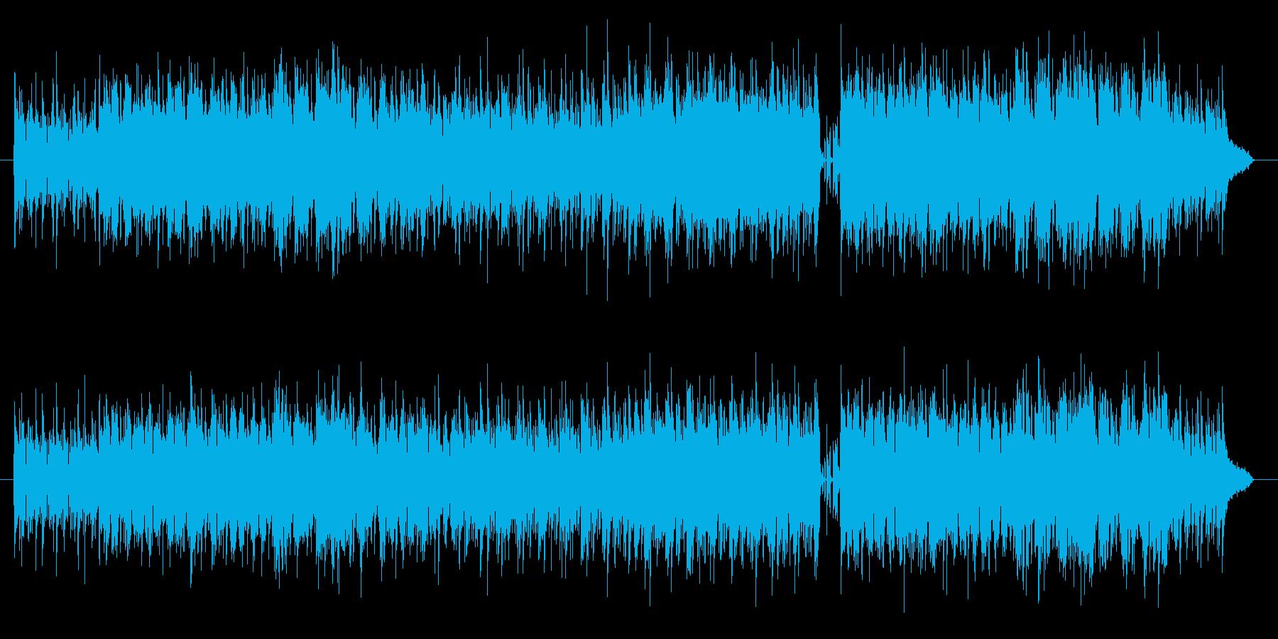 まどろみと爽やかさを併せ持つサックス曲の再生済みの波形