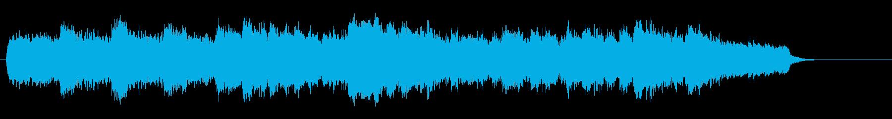映画音楽風ストリングス・サウンドの再生済みの波形