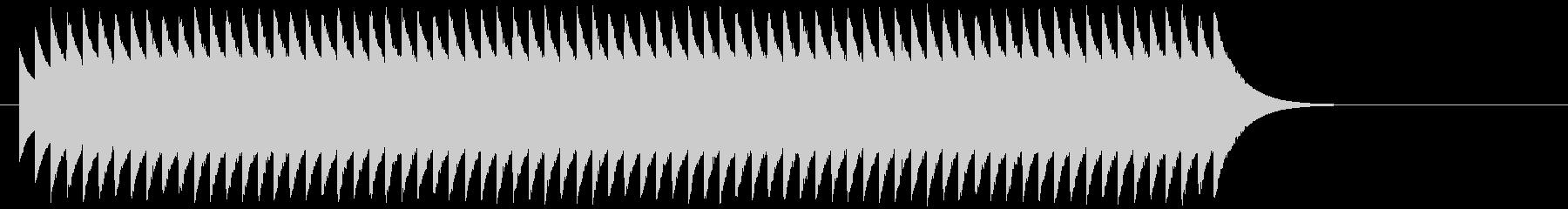 マシンガンを連射している音の未再生の波形