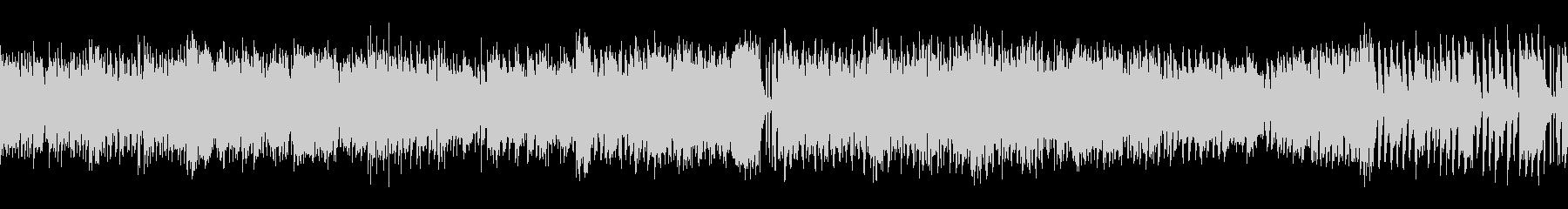 スマホゲー、ミニゲーム等に合うループ曲の未再生の波形