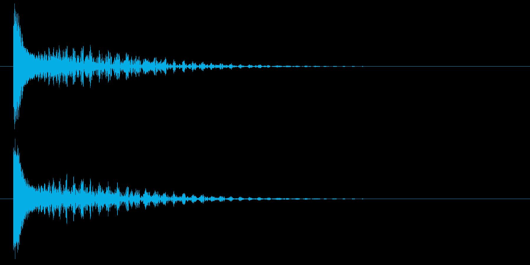 ビューン!☆ビームライフル風1の再生済みの波形