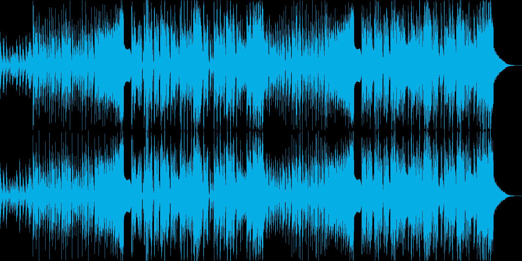 可愛らしさが垣間見えるフューチャーベースの再生済みの波形