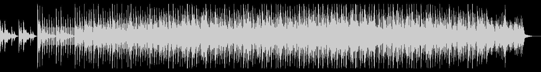 薄暗いトリップホップアンビエントIDMの未再生の波形