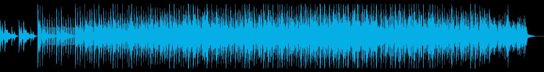 薄暗いトリップホップアンビエントIDMの再生済みの波形