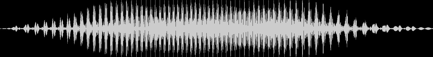 2(に)の未再生の波形