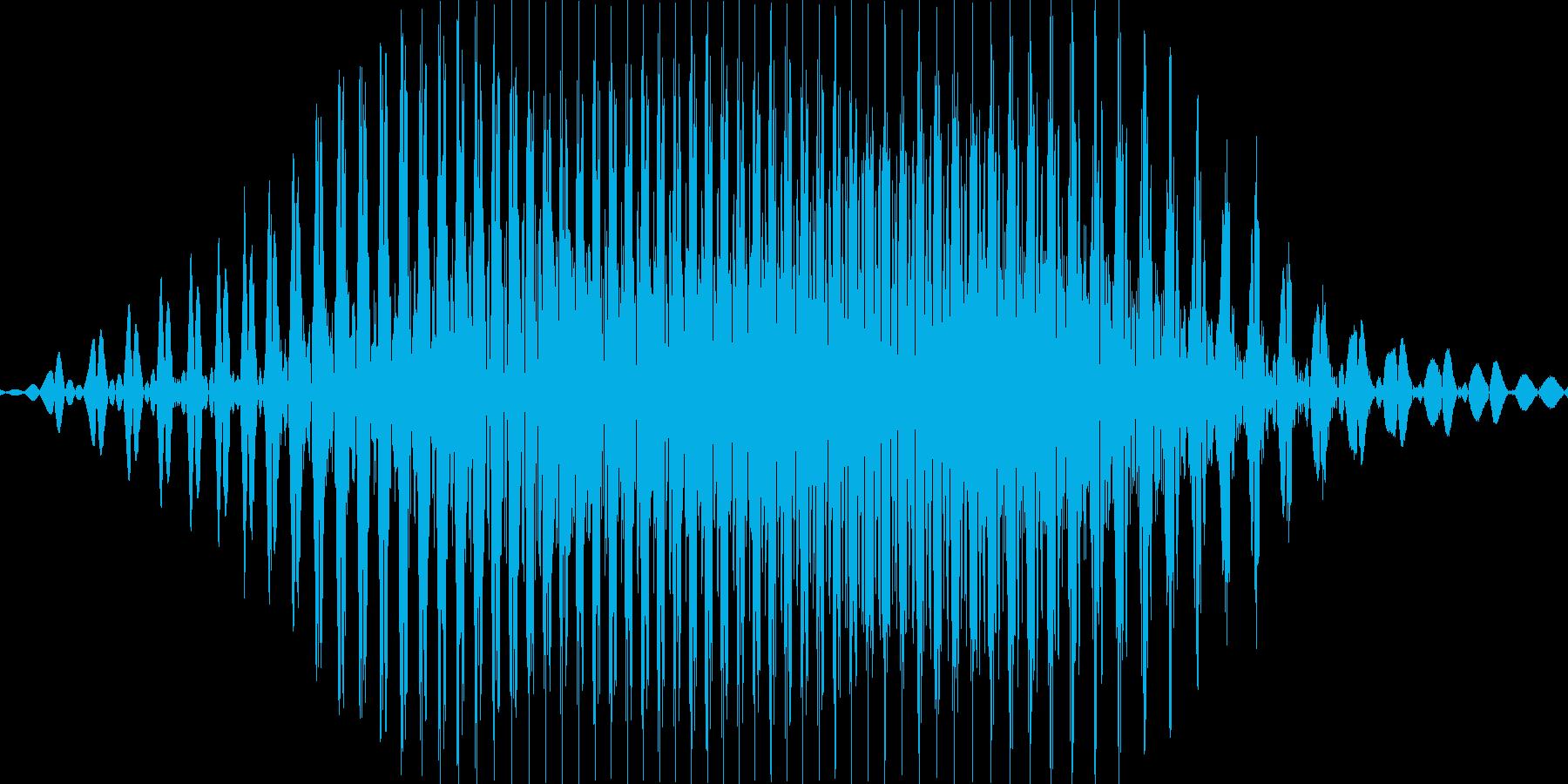 2(に)の再生済みの波形