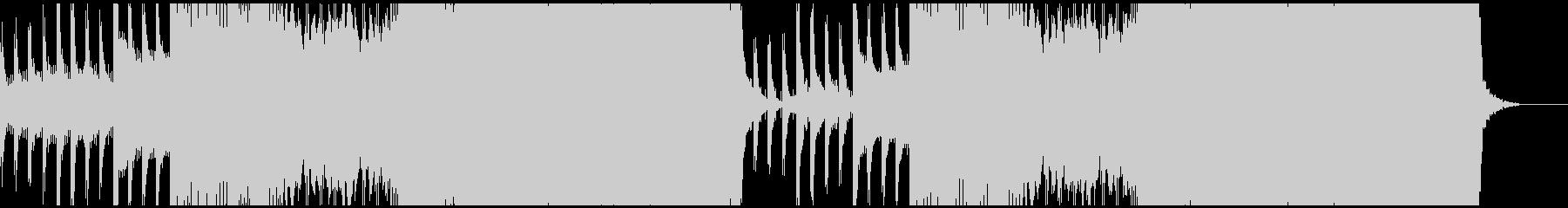 お洒落なジャズ調のEDMです。の未再生の波形