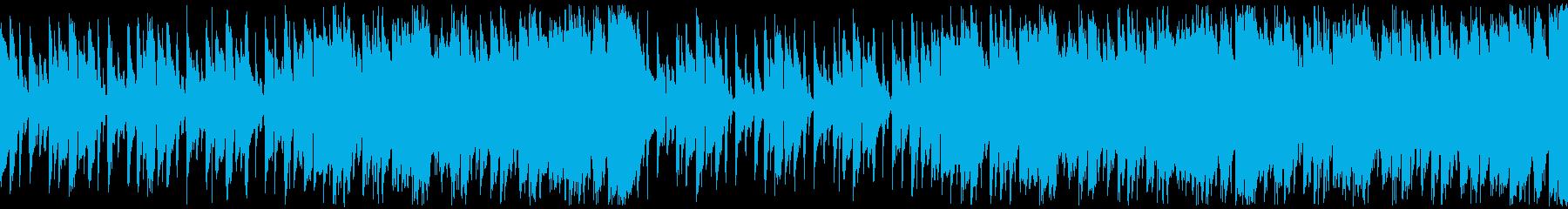 Youtube・楽しい夏のビーチ・ループの再生済みの波形