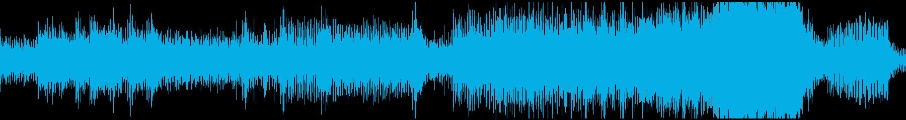 駆け上がるような疾走感の本格オーケストラの再生済みの波形