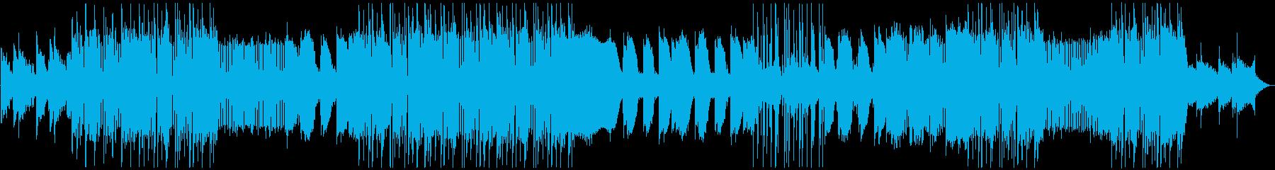 明るく不思議なCHILL系HIPHOPの再生済みの波形