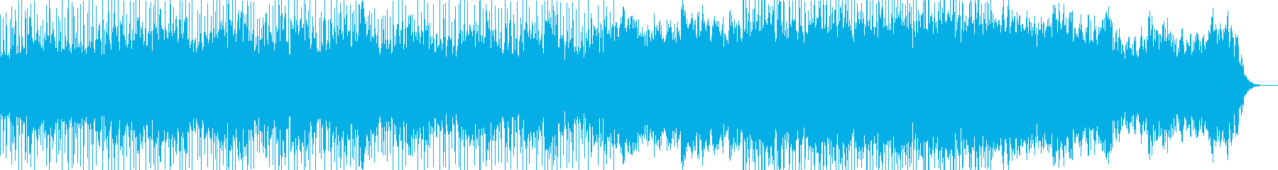 暗めのエレクトロニカの再生済みの波形