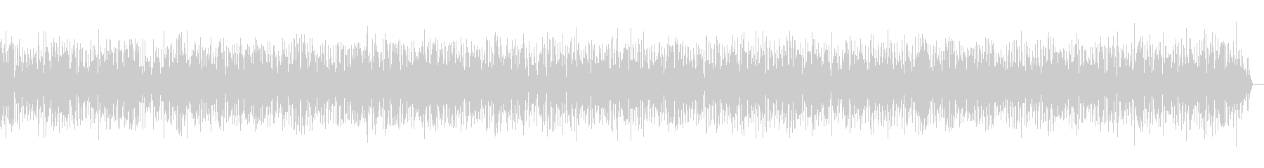 ヨーロッパの街角アコーディオンジャズの未再生の波形
