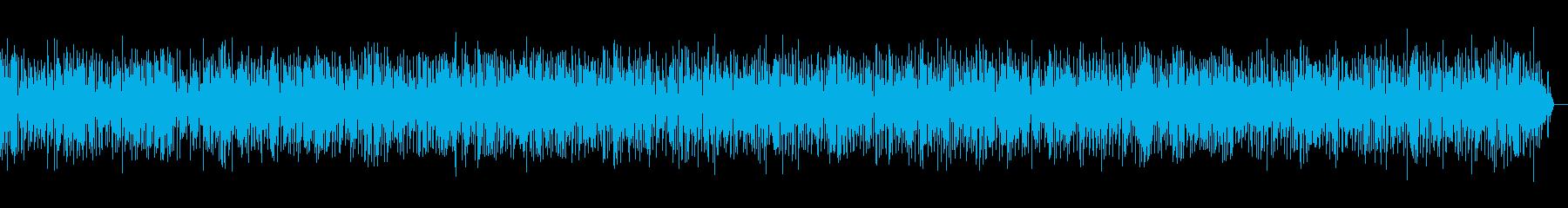 ヨーロッパの街角アコーディオンジャズの再生済みの波形