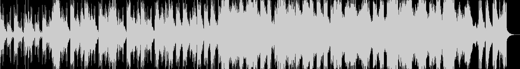 しっとりした和風のピアノR&Bの未再生の波形