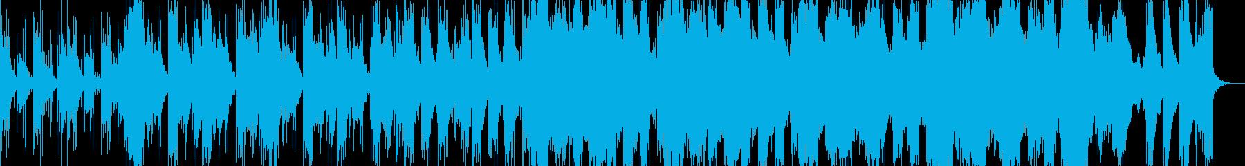 しっとりした和風のピアノR&Bの再生済みの波形