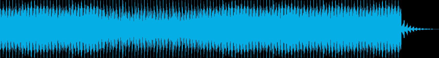 【ジングル】キラキラ系の映像美に合う曲の再生済みの波形