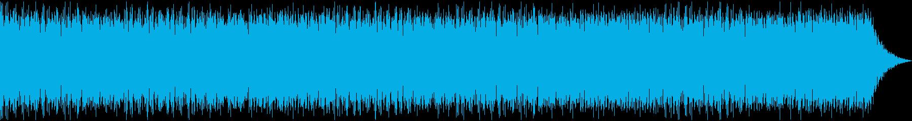 賑やかなケルト音楽の再生済みの波形