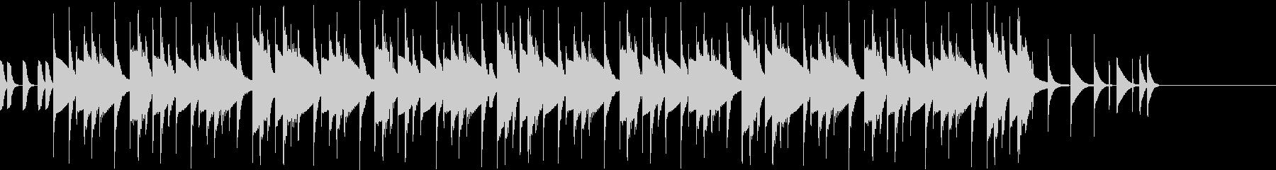 リズムボックスのテクノポップ ジングル2の未再生の波形