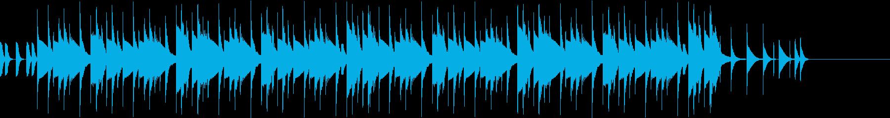 リズムボックスのテクノポップ ジングル2の再生済みの波形