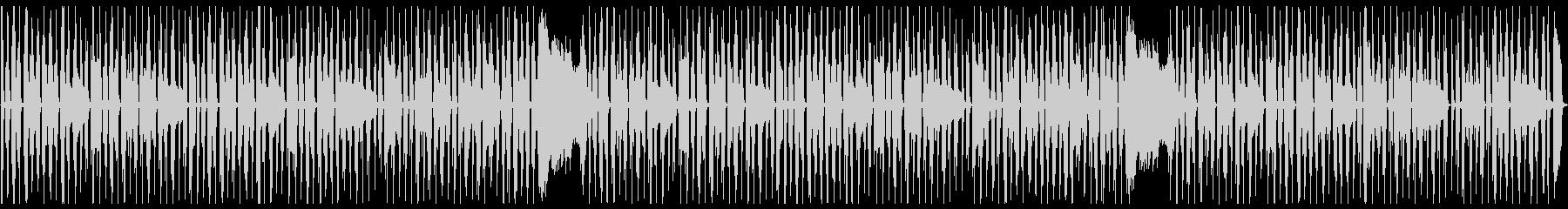 ぐうたらする時に流れている曲の未再生の波形