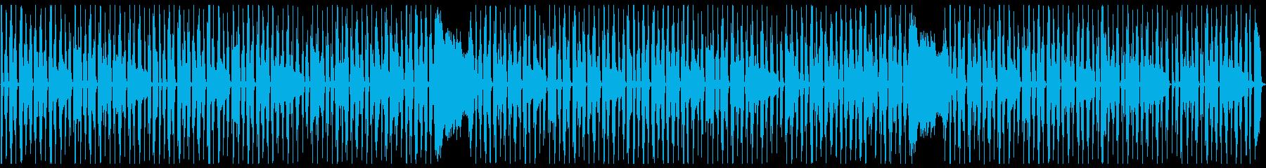 ぐうたらする時に流れている曲の再生済みの波形