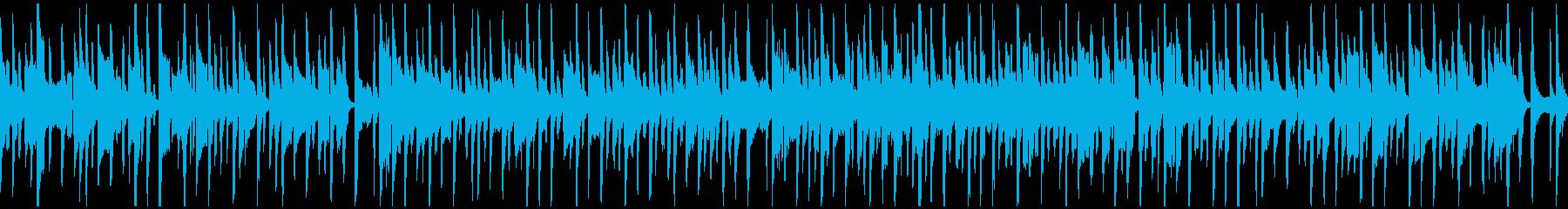 すっとぼけた脱力リコーダー ※ループ版の再生済みの波形