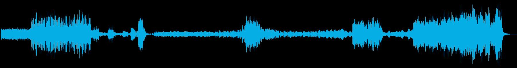 天気予報に使われたかわいいクラシック曲の再生済みの波形