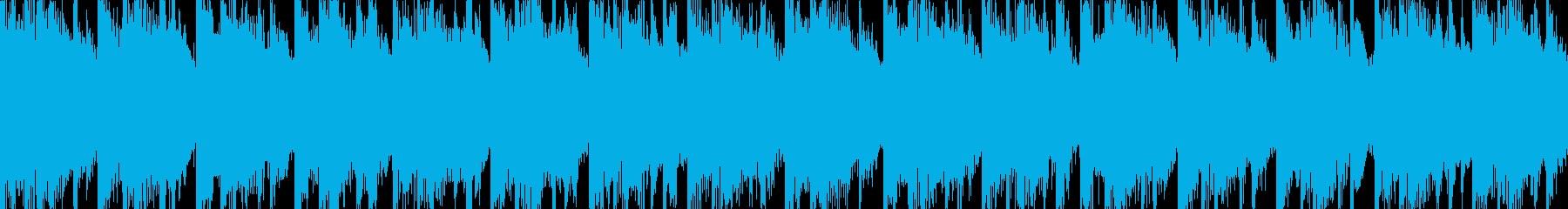 ダークな話題のワイドショーとニュースにの再生済みの波形