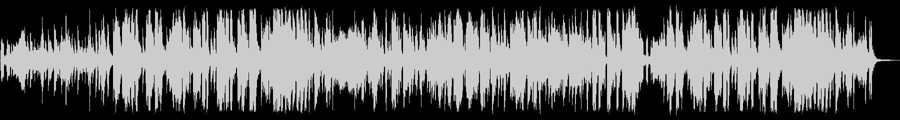 クラシック曲をリゾートパーティーアレンジの未再生の波形