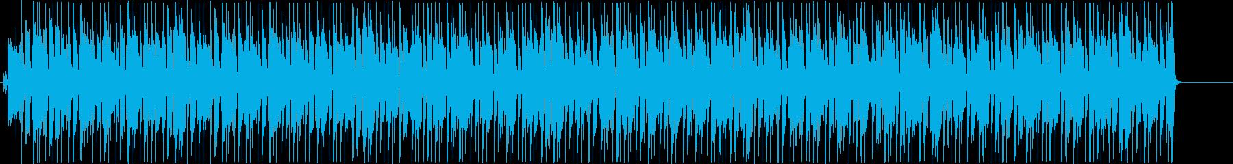 ピアノとウクレレで南の島の休日を…の再生済みの波形