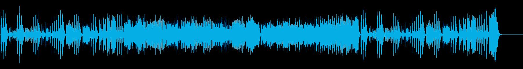 かわいらしいクラシック曲の再生済みの波形