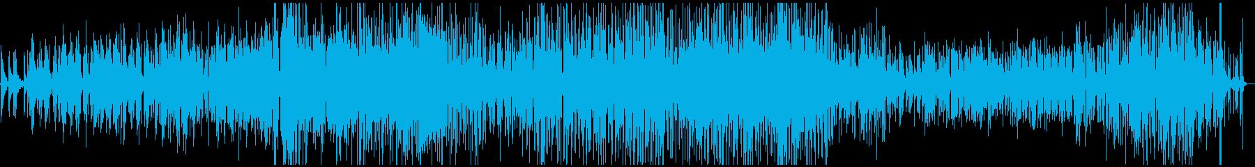 ジャズとファンク。静かなバー、オー...の再生済みの波形