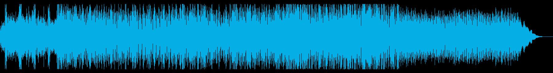 調性感の希薄なサイケデリックトランスの再生済みの波形