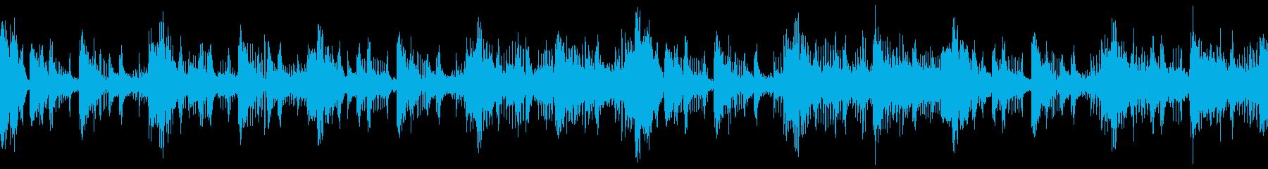 【ループ音源】盆回り/場面転換/騒がしいの再生済みの波形
