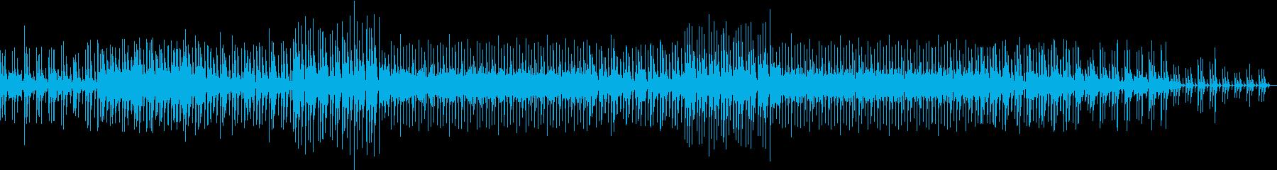静かで緊迫感のあるアンビエントの再生済みの波形