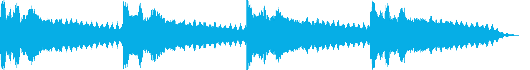 スペーススキャナーまたはレーダーヘ...の再生済みの波形