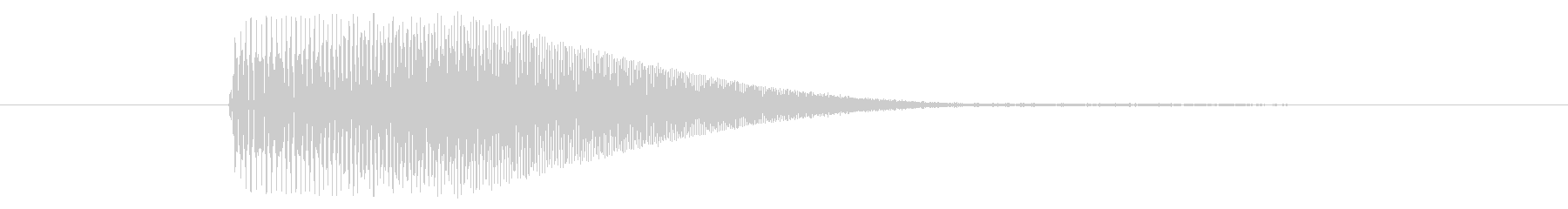 伸びる/場面転換/移動の未再生の波形