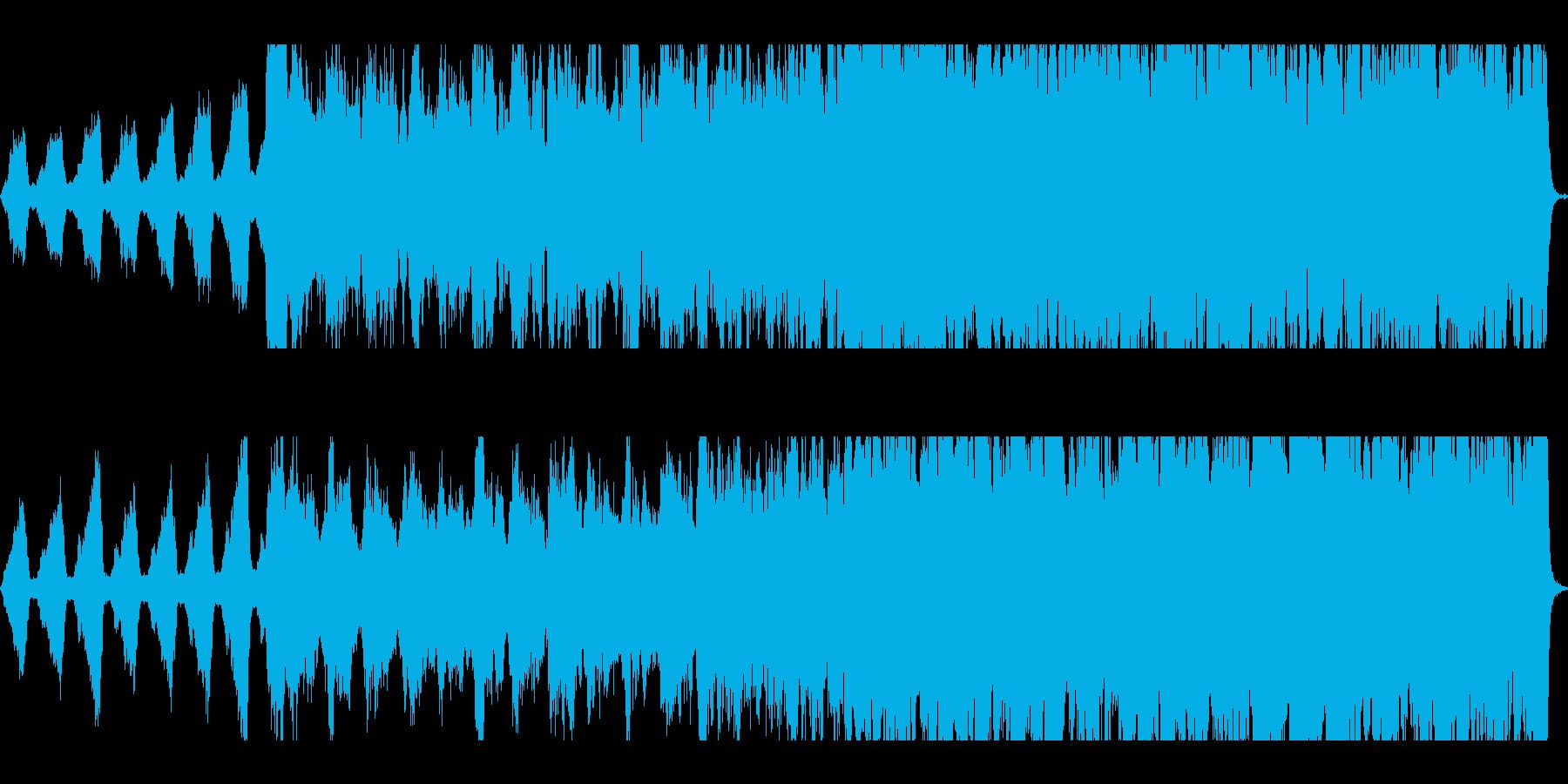 和風/大河ドラマ壮大な切ないオーケストラの再生済みの波形